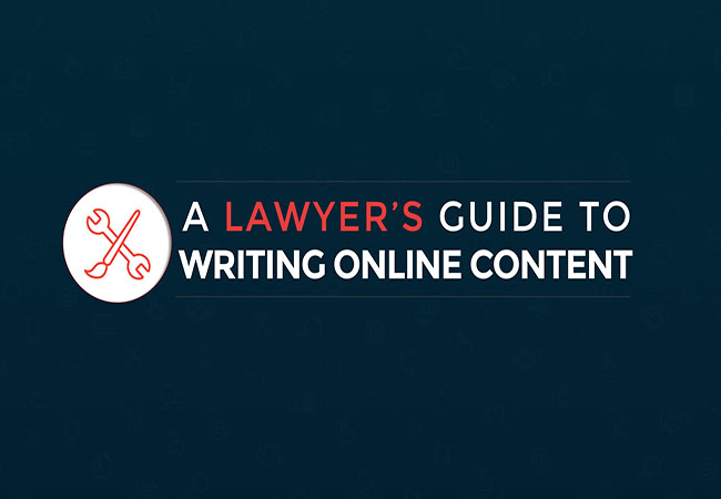 a lawyer's guide to writing online content