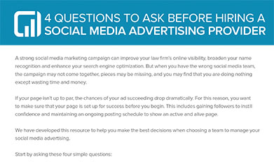 4 questions to ask before hiring a social media advertising provider