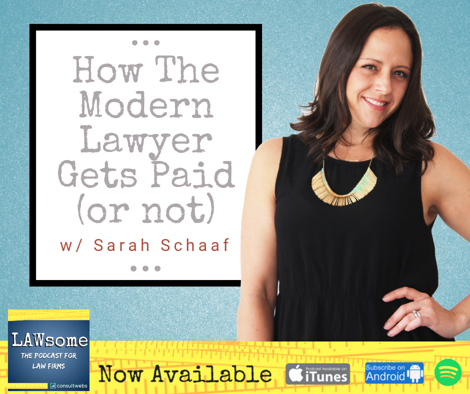 how the modern lawyer gets paid (or not)