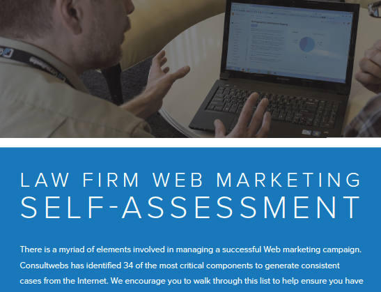 law firm web marketing self-assessment