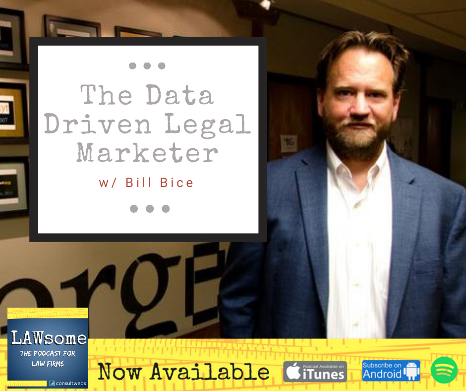 the data driven legal marketer