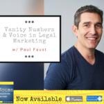vanity numbers & voice in legal marketing