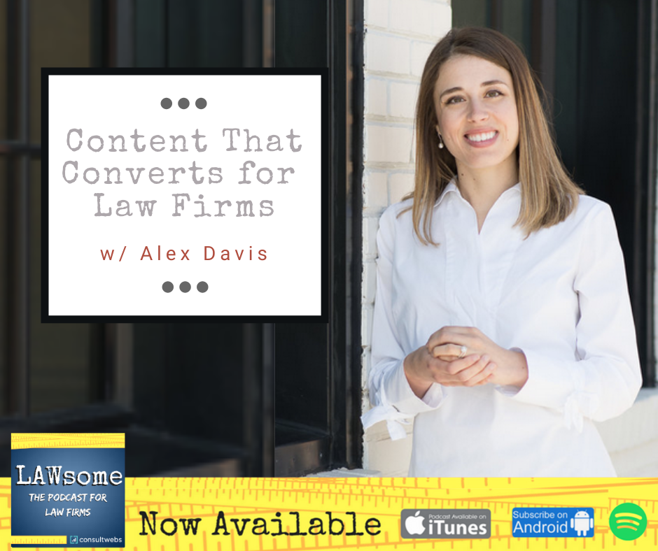 content that converts for law firms