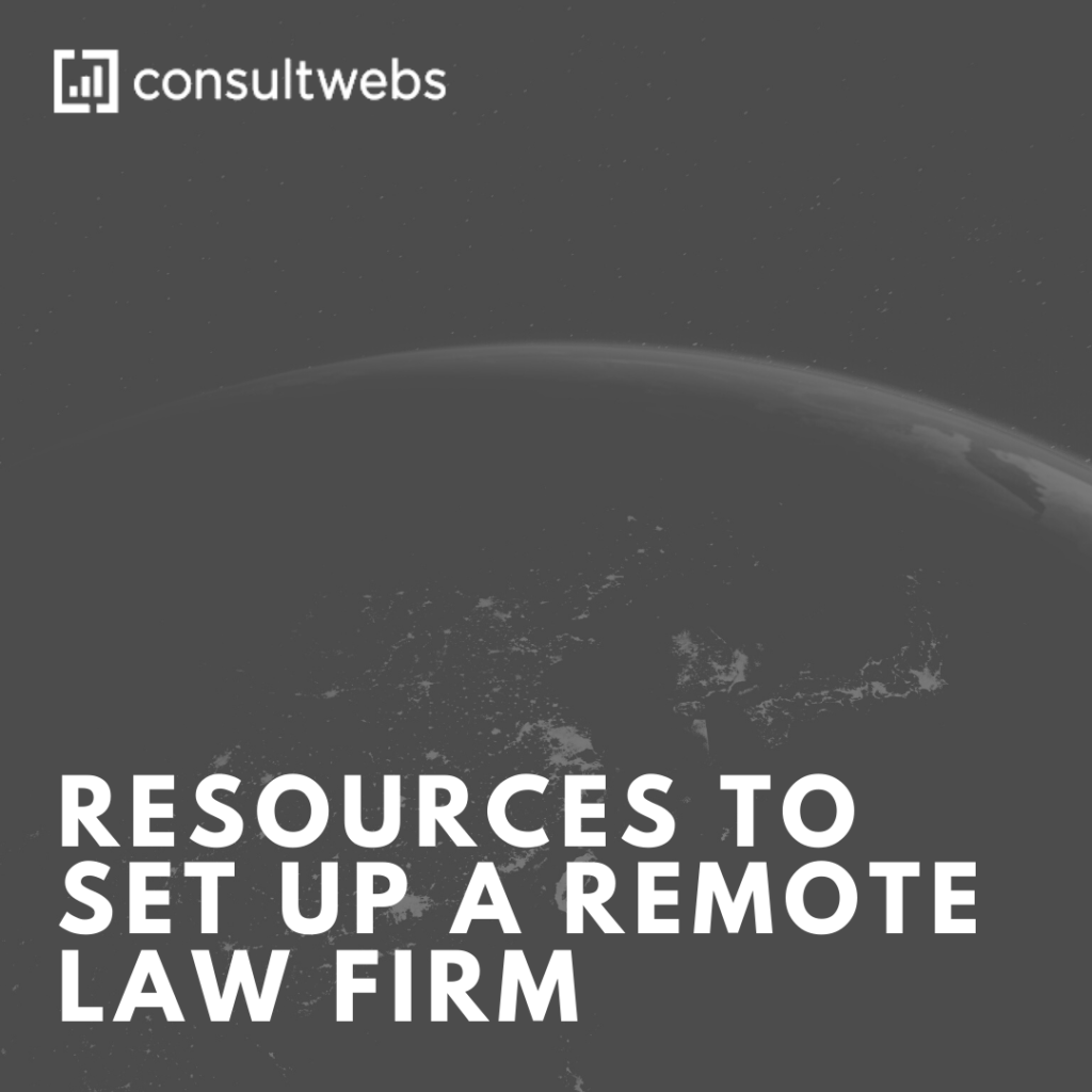 resources to set up a remote law firm