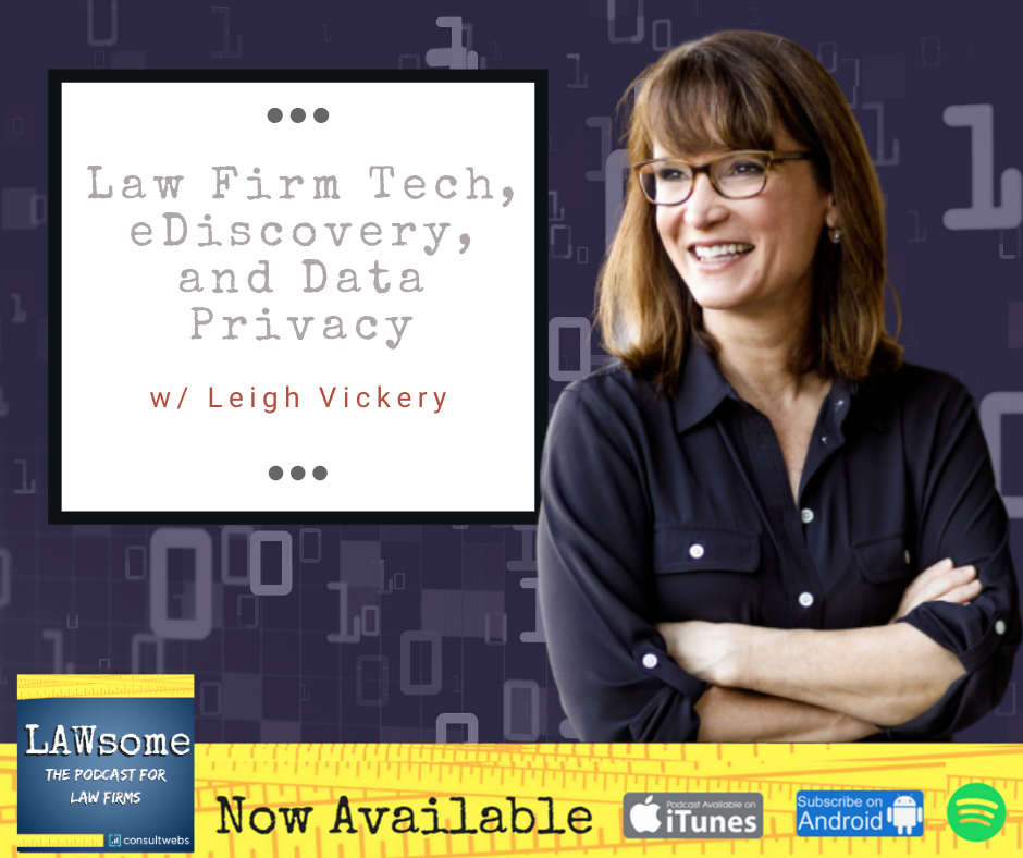 law firm tech, ediscovery, and data privacy
