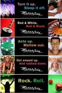 Casino billboards