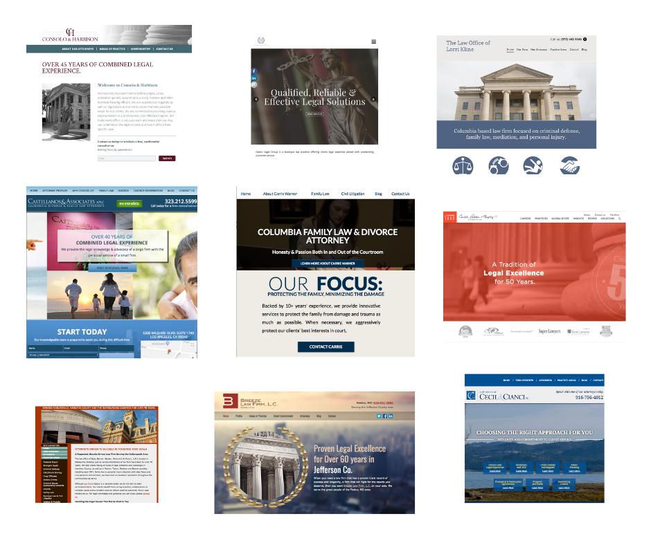 lawyer website examples