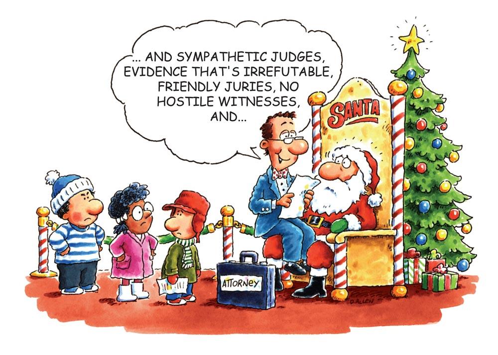 lawyer on santa's lap comic