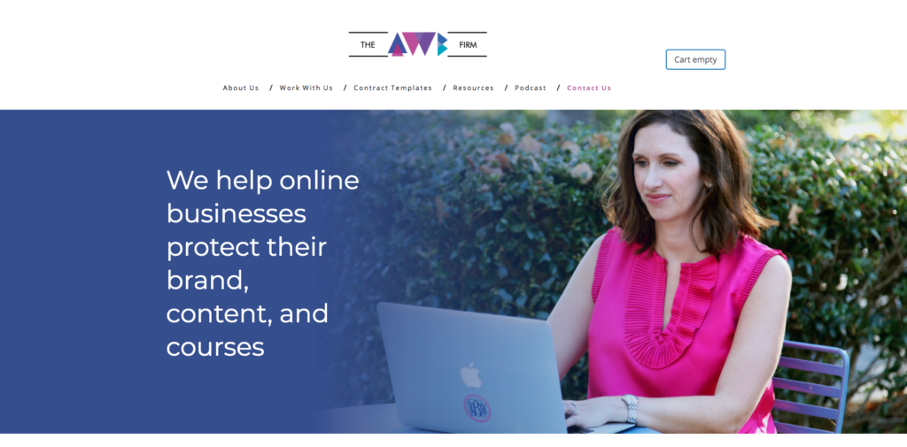 we help online businesses protect their brand, content, and courses