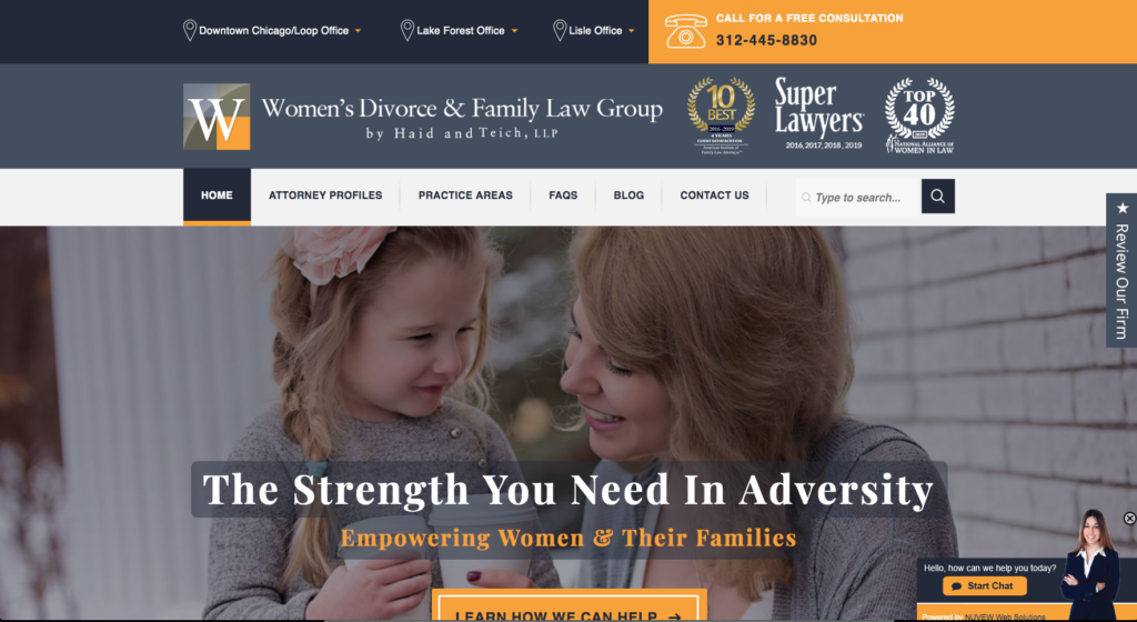 women's divorce & family law group by haid and teich, llp