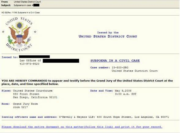 Spear phishing email, NY Times