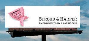 Employment law billboard
