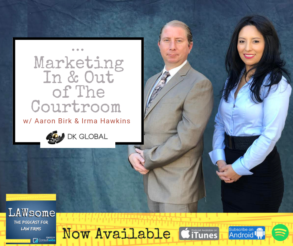 marketing in and out of the courtroom