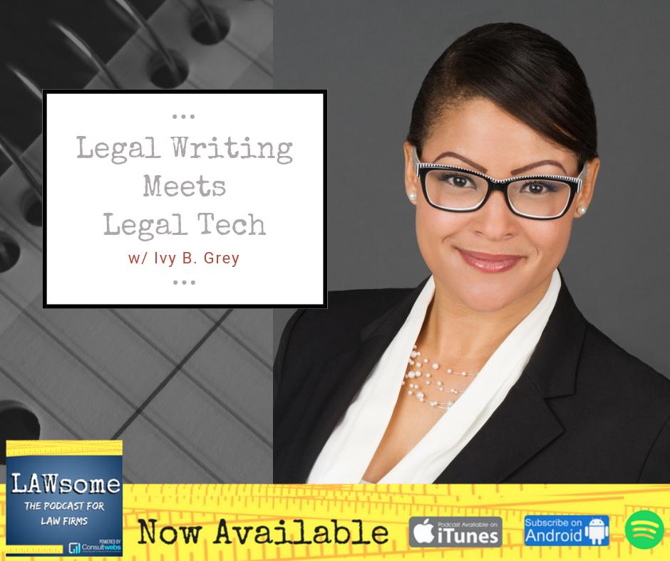 legal writing meets legal tech