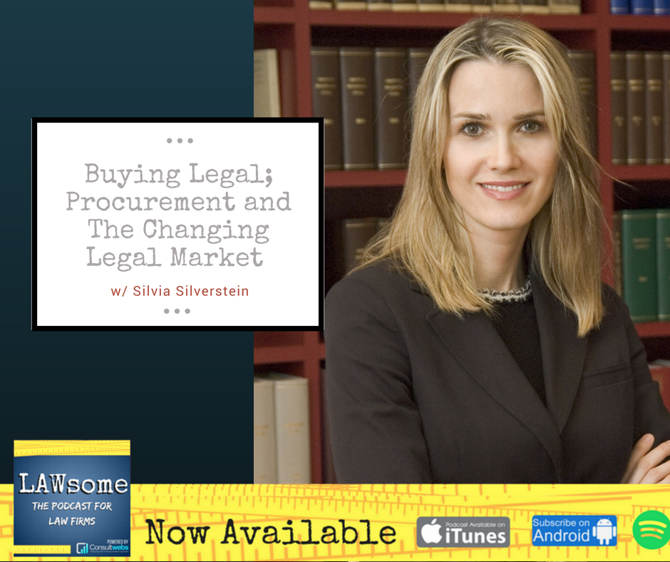 buying legal; procurement and the changing legal market