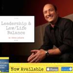 leadership and law/life balance
