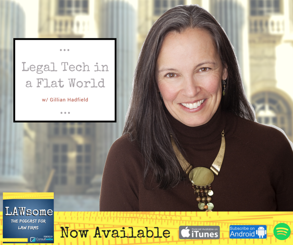 legal tech in a flat world