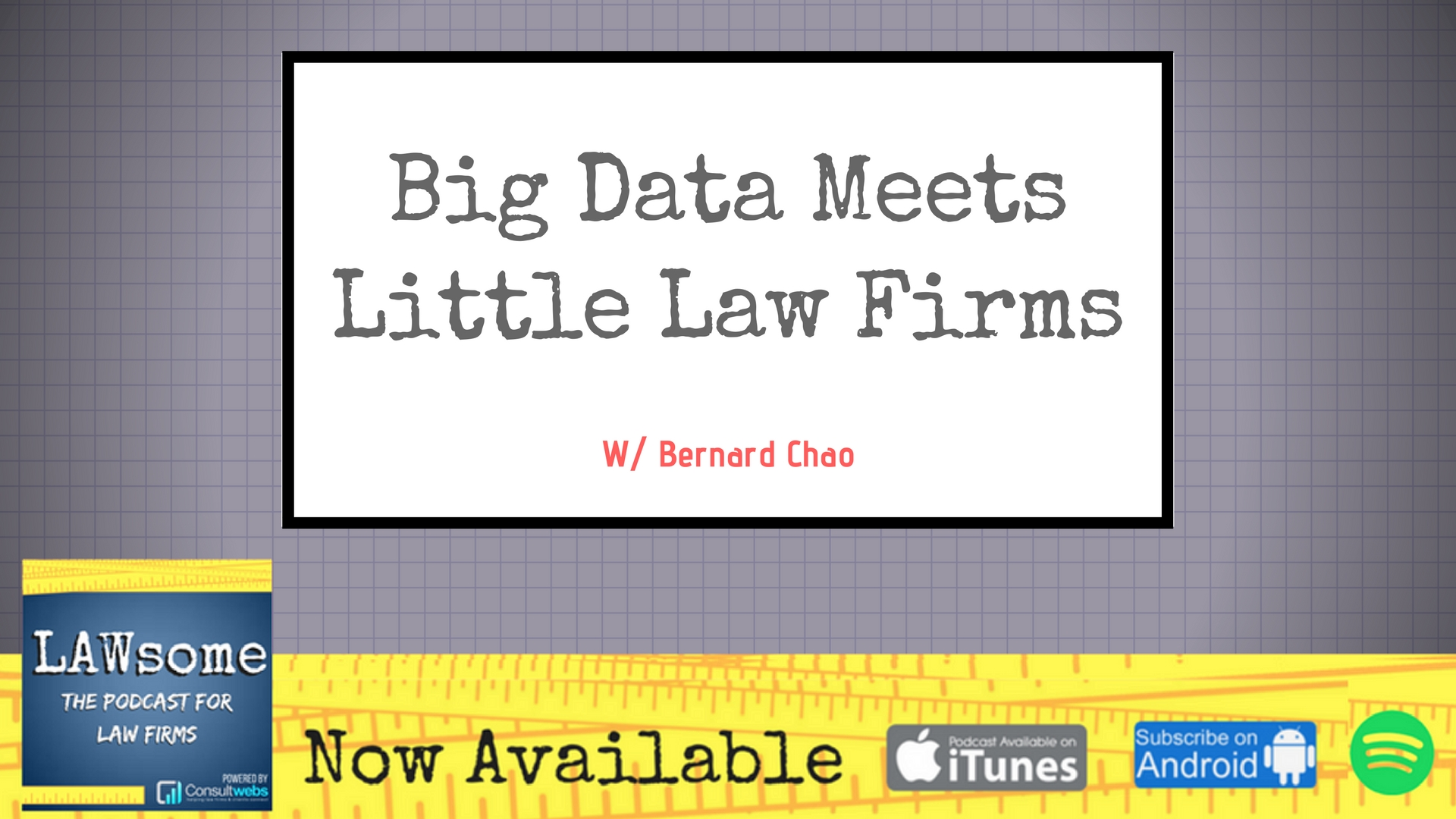 big data meets little law firms