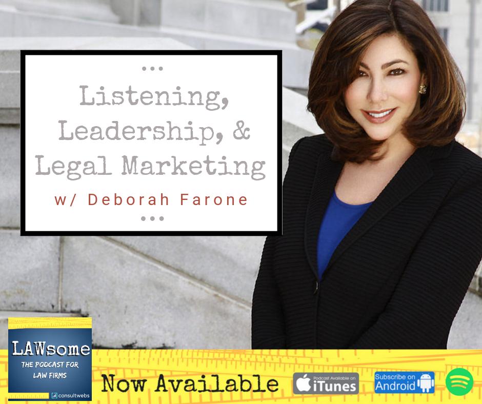 listening, leadership, & legal marketing