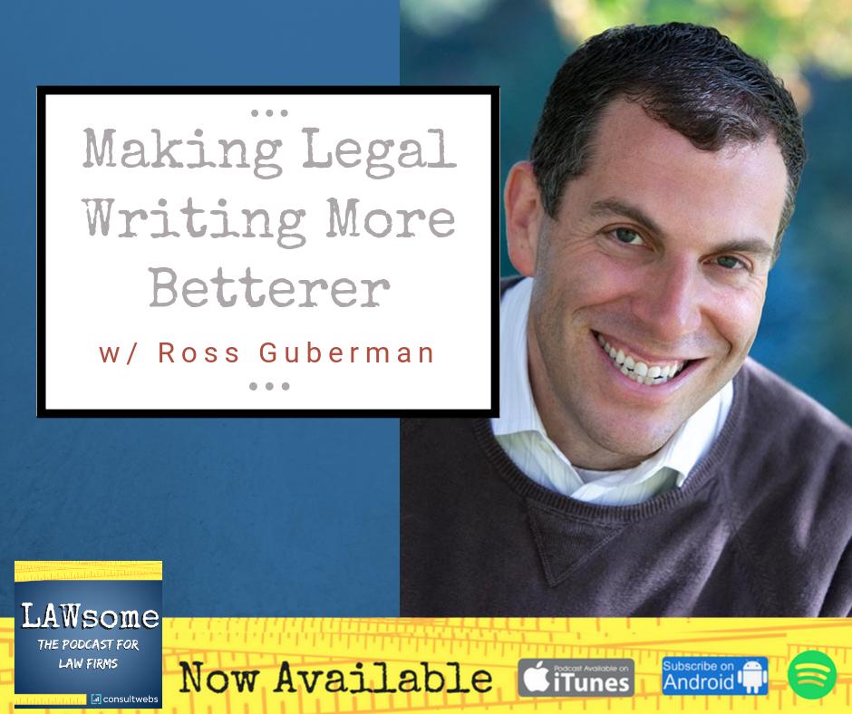 making legal writing more betterer