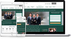 Responsive Law Firm Website Design